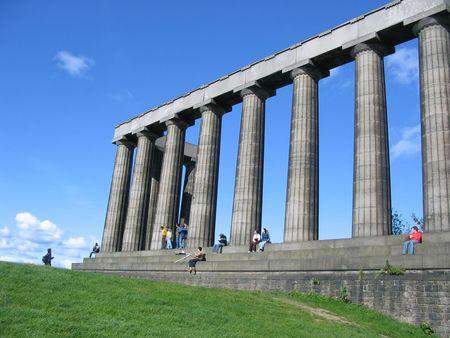 National Monument, Edinburgh Stock Photo