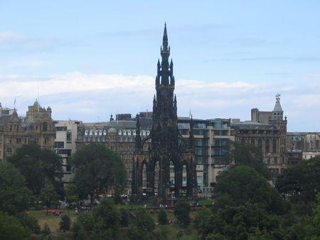 Scott Monument, Edinburgh, Scotland photo