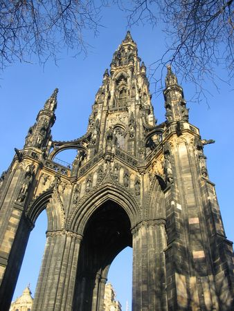 sir walter scott: Scott Monument, Edinburgh