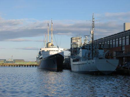 Royal Yacht Britannia, Edinburgh Stock Photo - 343375