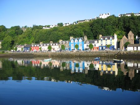 mull: Tobermory, Isle of Mull Stock Photo