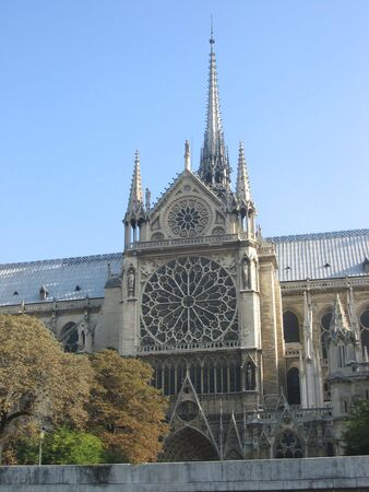 Notre Dame from the river Seine