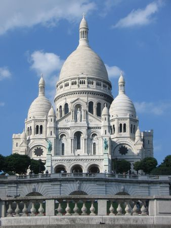 sacre: Sacre Coeur, Montmartre, Paris Stock Photo