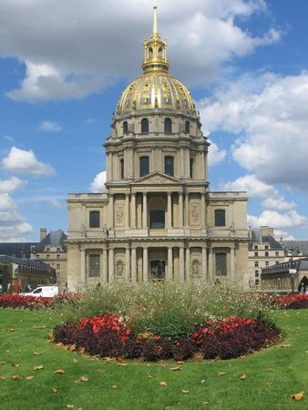 les: Golden Dome of Les Invalides, Paris