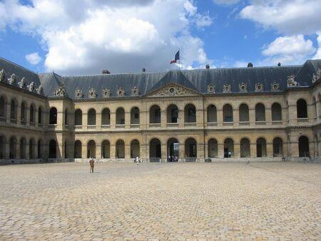 les: Courtyard of Les Invalides, Paris