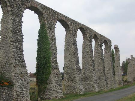 touraine: Roman Aqueduct, Loire Valley, France