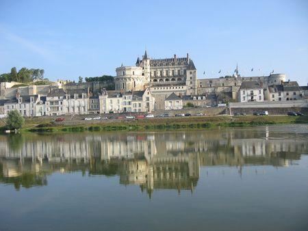 Amboise Chateau, Loire Valley, France photo