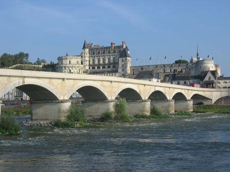 loire: Amboise Chateau, Loire Valley, France Stock Photo