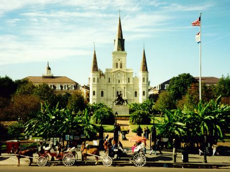 new orleans: Jackson Square, New Orleans