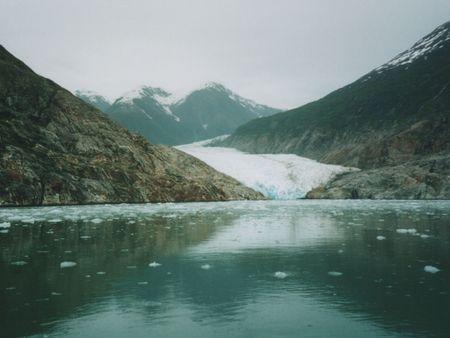 Tracey Arm fjord, near Juneau Alaska