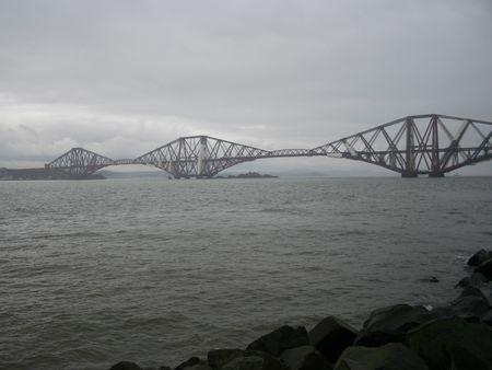 forth: Forth Rail Bridge, Edinburgh, Scotland