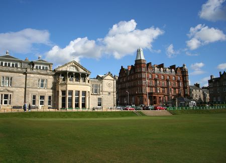 Royal and Ancient clubhouse, St Andrews Stock Photo