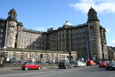infirmary: Royal Infirmary, Glasgow, Scotland