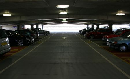 Inside a multi storey carpark Stock Photo - 381132