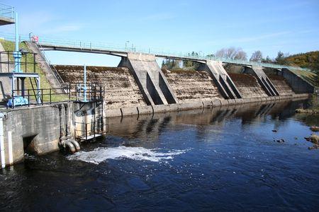 hydroelectric dam Stock Photo - 407424