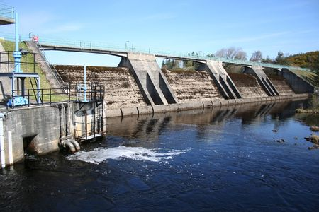 hydroelectric dam Stock Photo - 407424