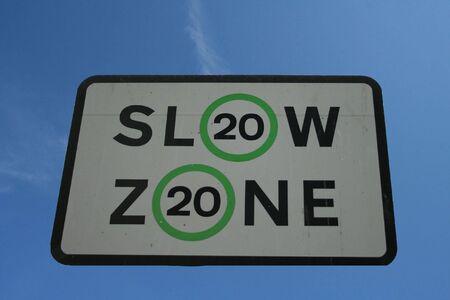 mph: Slow 20 mph speed limit