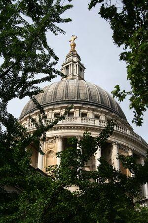 st pauls: St Pauls cathedral, London Stock Photo