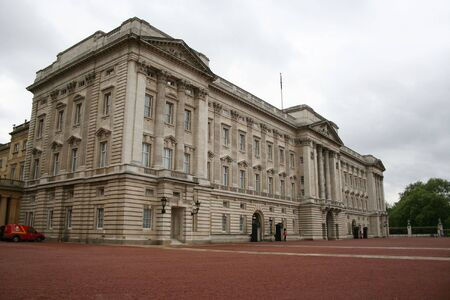 beefeater: Buckingham Palace,London Stock Photo