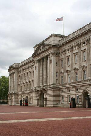 guards outside Buckingham Palace, London  photo