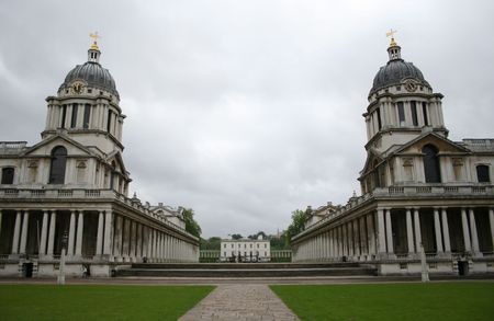 greenwich: Royal naval college, Greenwich, London