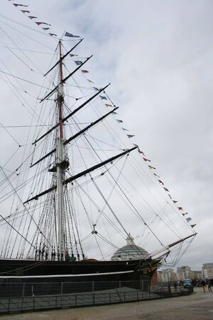 greenwich: Cutty Sark, Greenwich, london, England Stock Photo