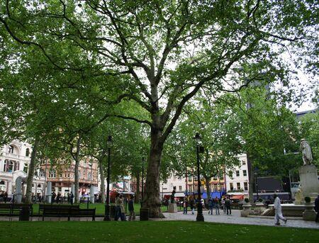 restuarant: leicester square, london Stock Photo