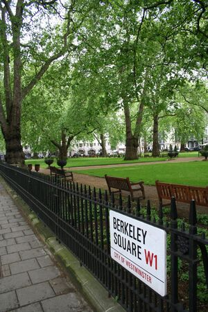 Berkeley Square, mayfair, London