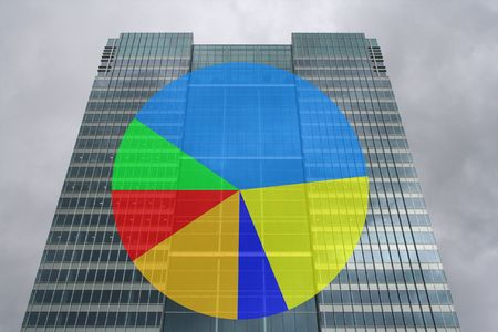 skyscraper pie chart photo