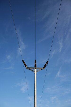 electricity pylon Imagens - 438796