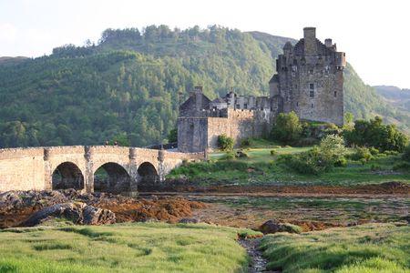 loch: Eilean Donan Castle, Loch Duich Scotland