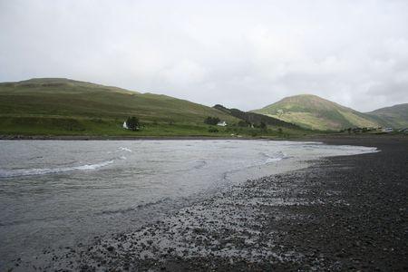 brittle: Loch brittle, Isle of Skye, Scotland Stock Photo
