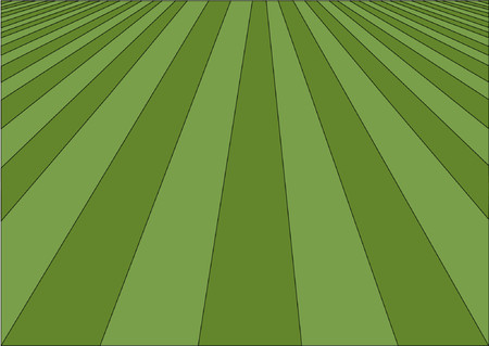 cut grass: Perfect lawn vector illustration Illustration