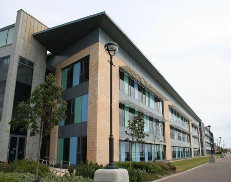 Minimal Bürohochhaus