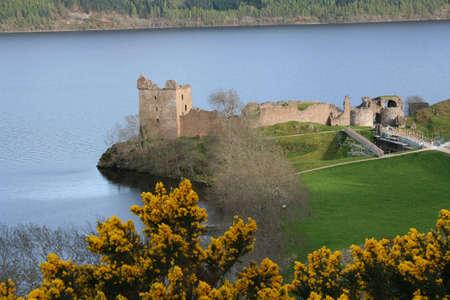 scotish: Urquhart castle Loch Ness Scotland