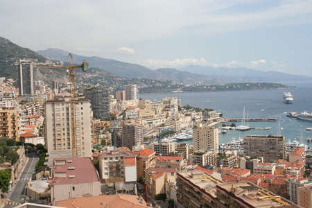 Monaco the city state in the south of France Stock Photo