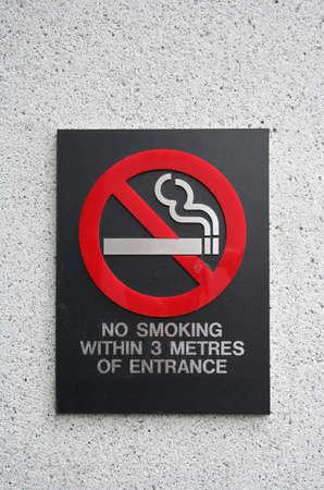 no smoking within 3 metres photo