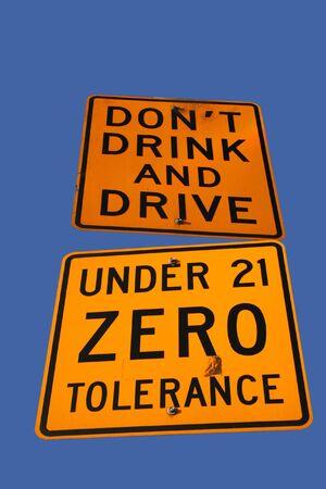 dont drink and drive: dont drink and drive sign Stock Photo