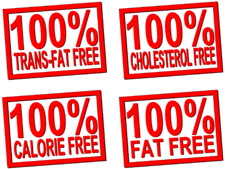 absolutely: 100% trans-fat, cholesterol, free transparent