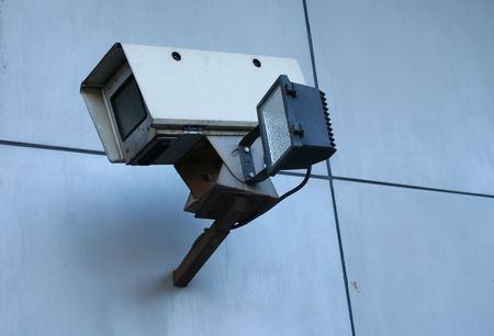 close circuit camera: CCTV surveillance camera for crime prevention