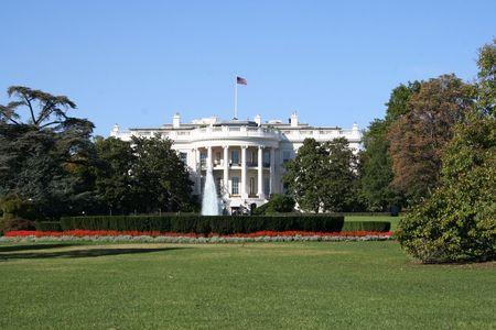 White house Washington DC the presidential residence Stock Photo - 687515