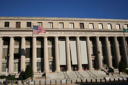 Bureau of engraving and printing Washington DC photo