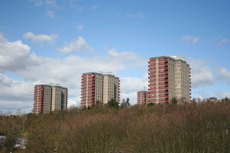 ��low income housing�: Tower blocks low income housing