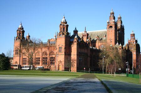 Kelvingrove art gallery and Museum Glasgow Stock Photo