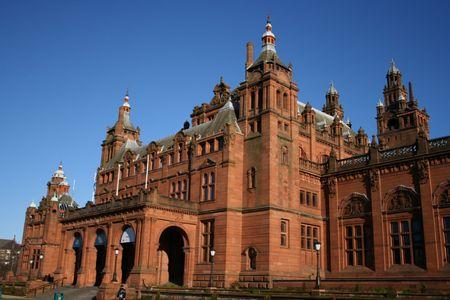art gallery: Kelvingrove galleria d'arte e Museo di Glasgow  Archivio Fotografico