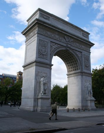 greenwich: Washington Arch Greenwich village New York City