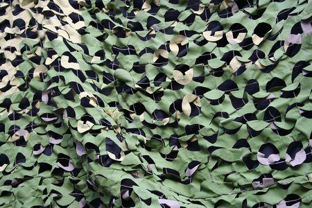 netting: camouflage verrekening over militaire voertuigen
