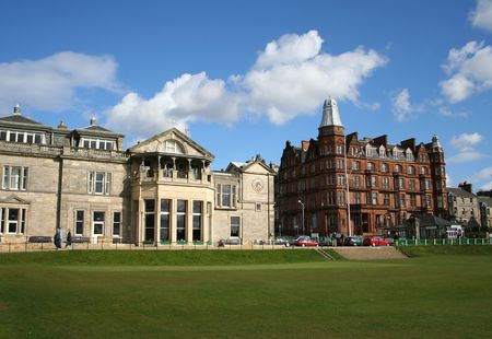 Royal and Ancient clubhouse, St Andrews, Fife, Scotland photo