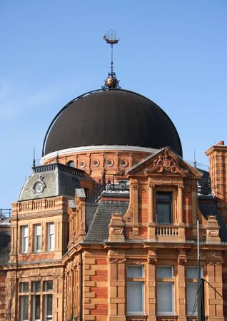 greenwich: dome of Royal Observatory, Greenwich Park, London England