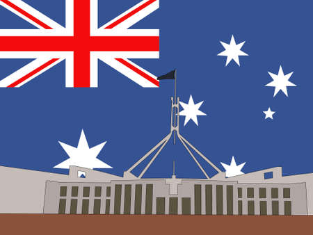canberra: Australian parliament building Canberra